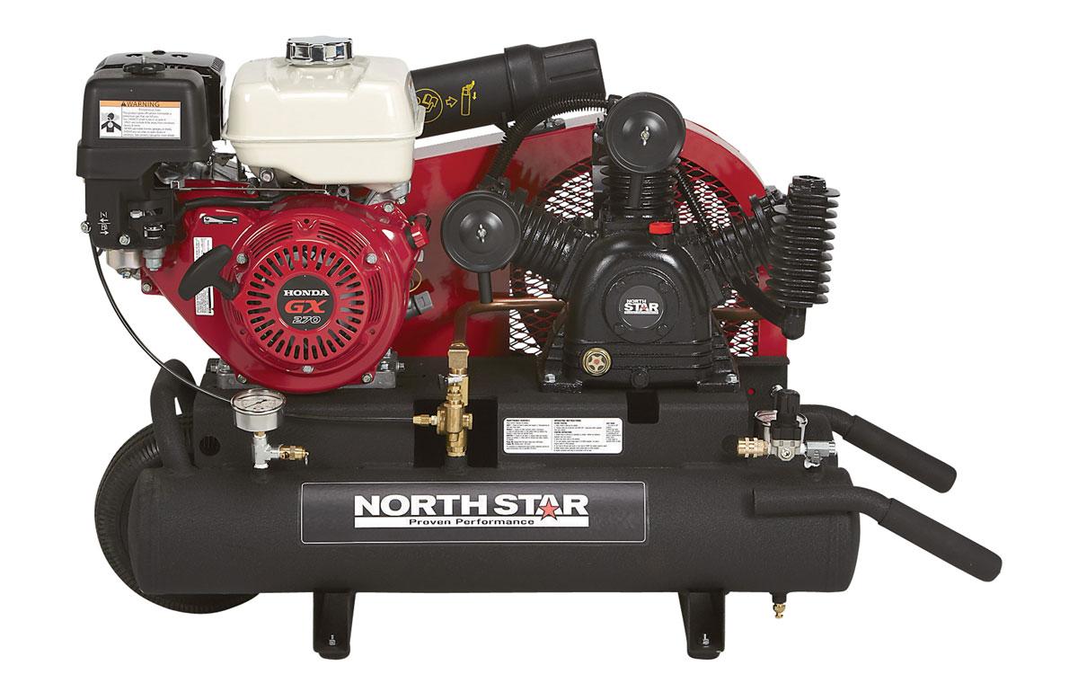 6-10 CFM Gas Air Compressor