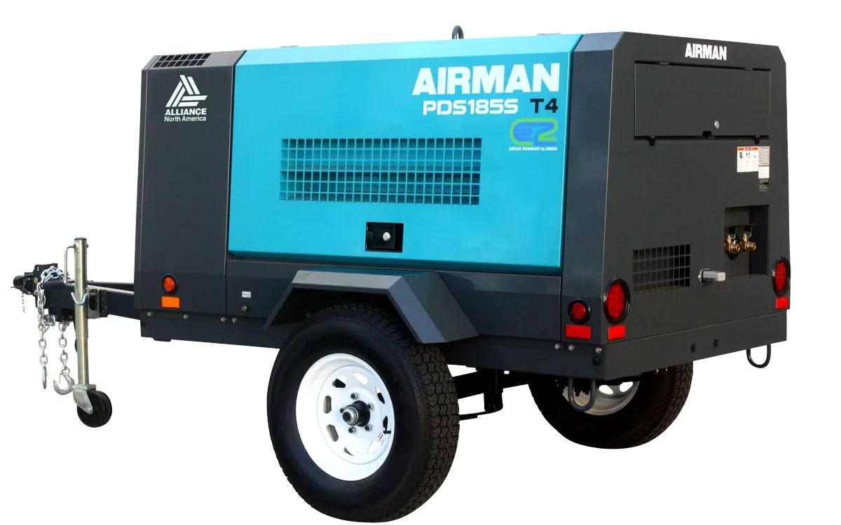 Rotair/Airman 185 CFM Air Compressor