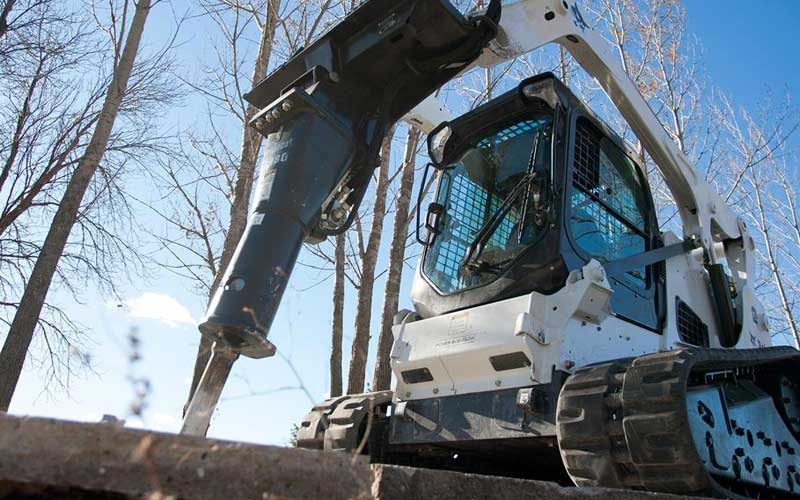 Hydraulic Breaker, Skidsteer/Excavator