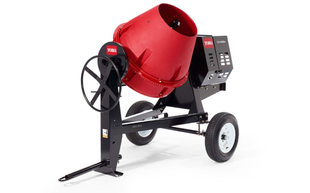 Toro 9cu. ft. Towable Concrete Mixer