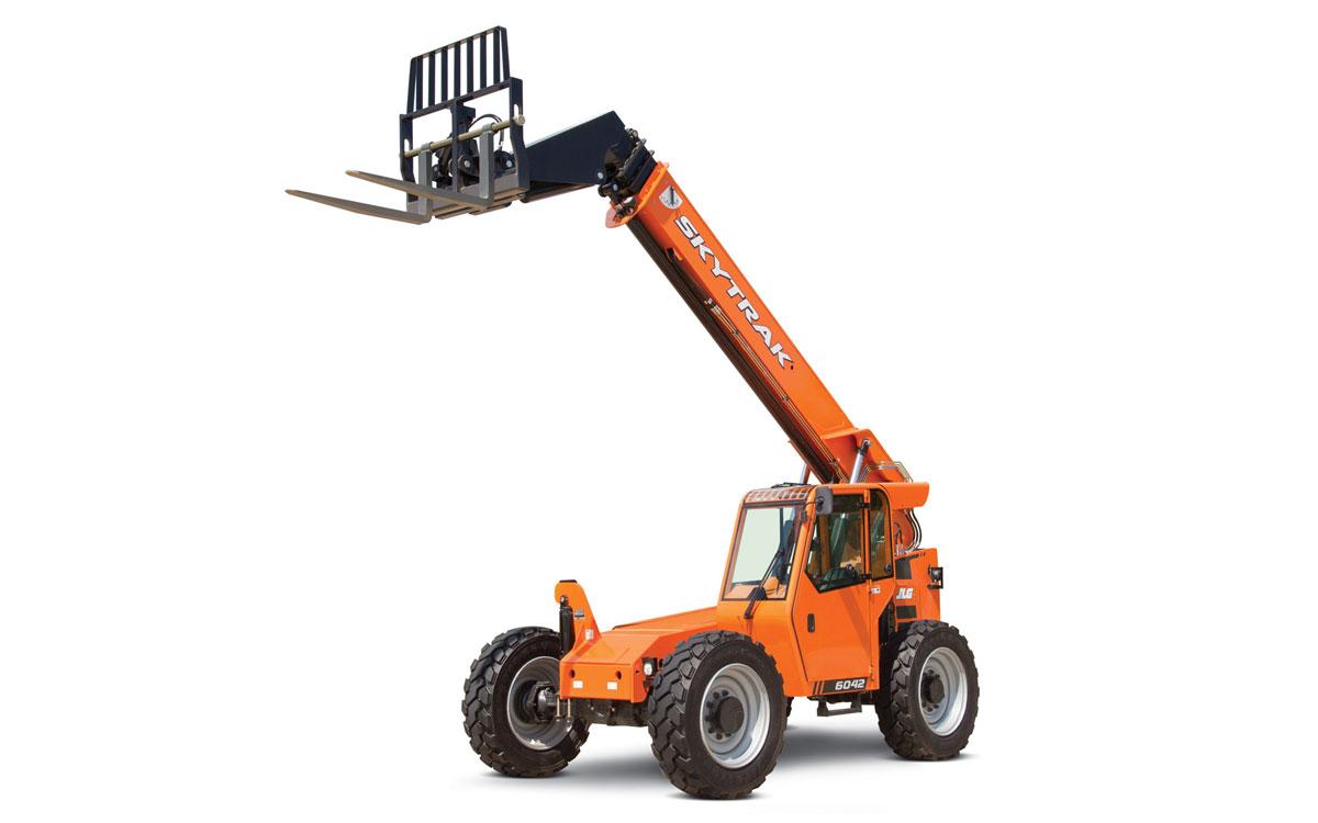 SkyTrak 6042 Shooting Boom Forklift