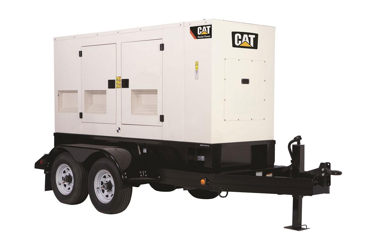 Caterpillar QX100 kw Generator