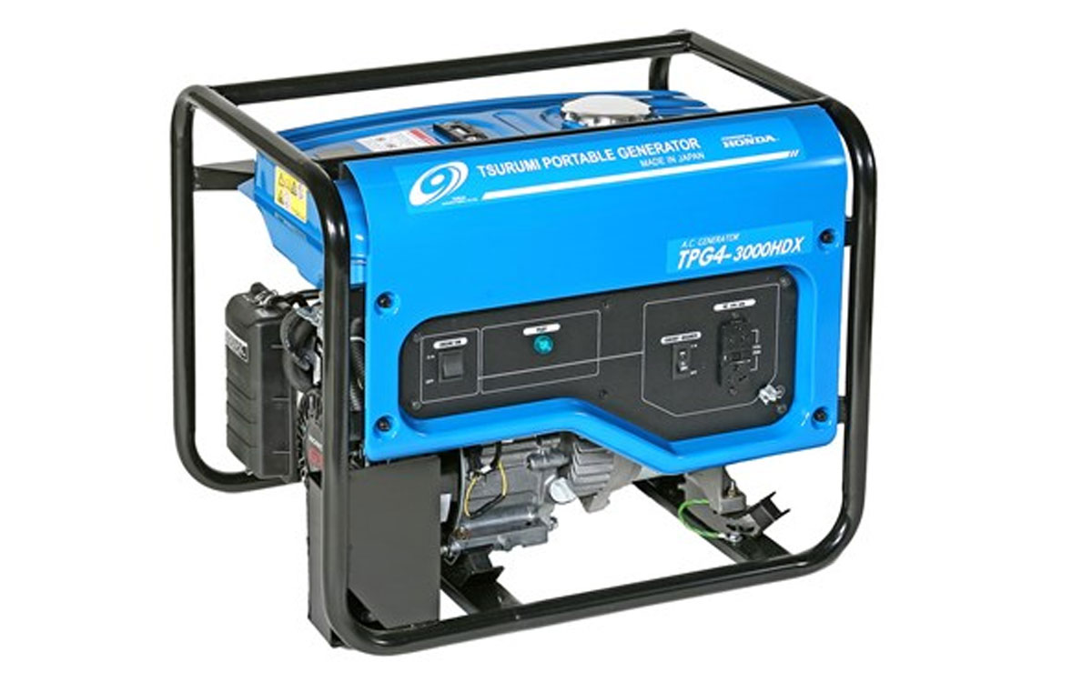Tsurumi 2200 Watt Portable Generator