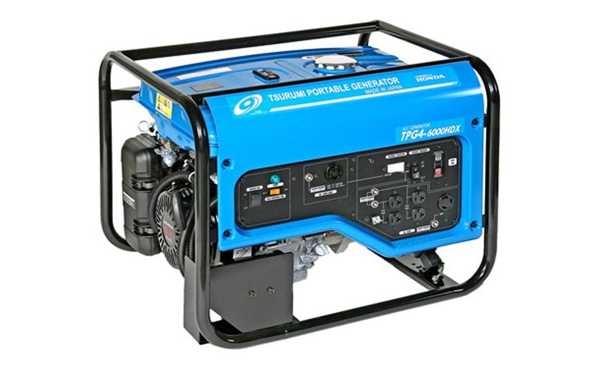 Tsurumi 4800 Watt Portable Generator