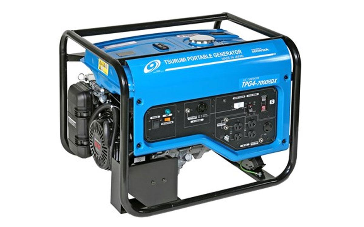 Tsurumi 6000 Watt Portable Generator