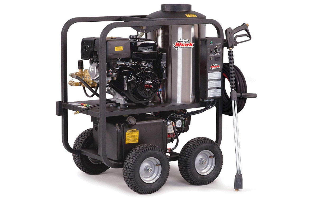 Shark 3000 PSI HOT Pressure Washer