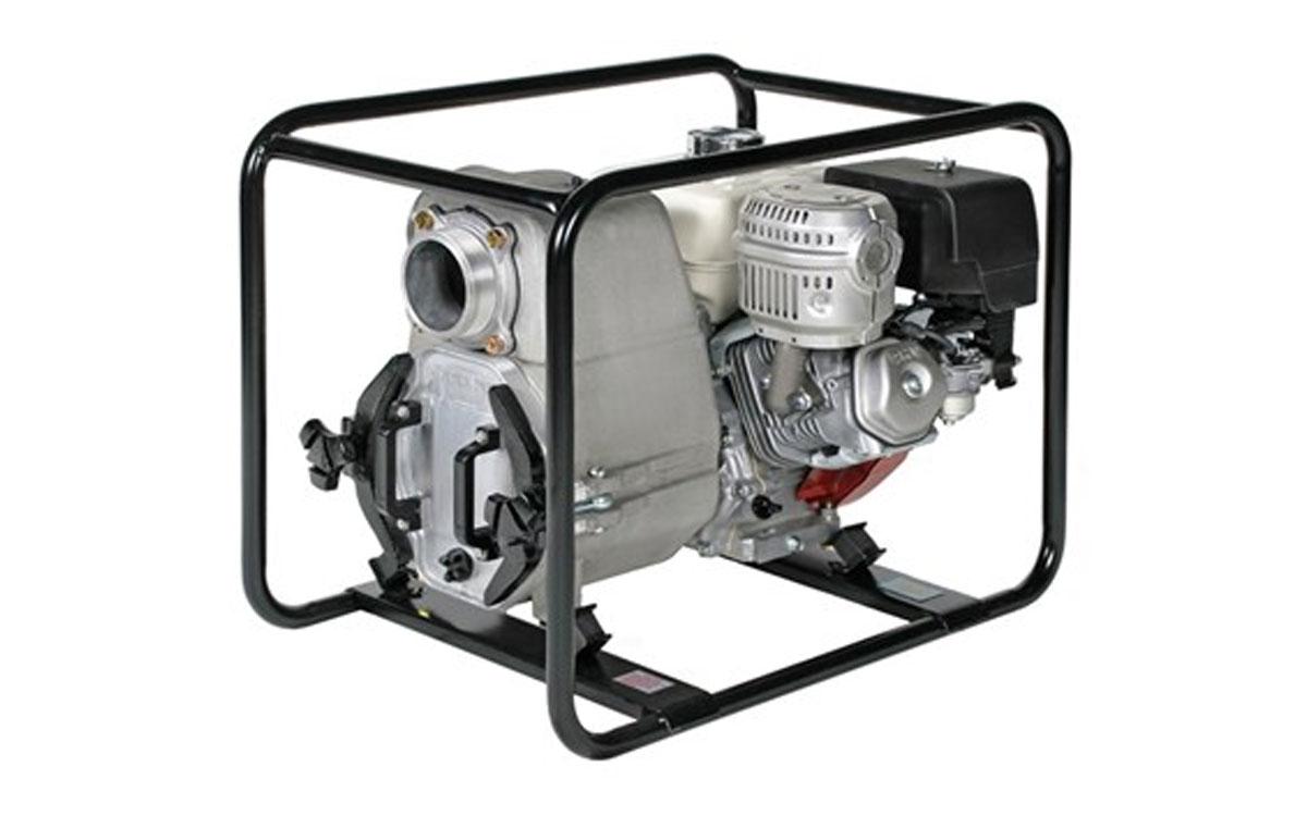 Tsurumi 4″ Gas Trash Pump