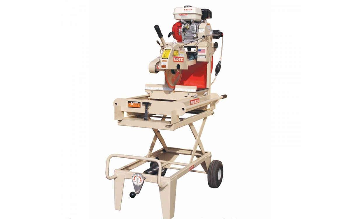 EDCO 14″ Brick Saw Gas