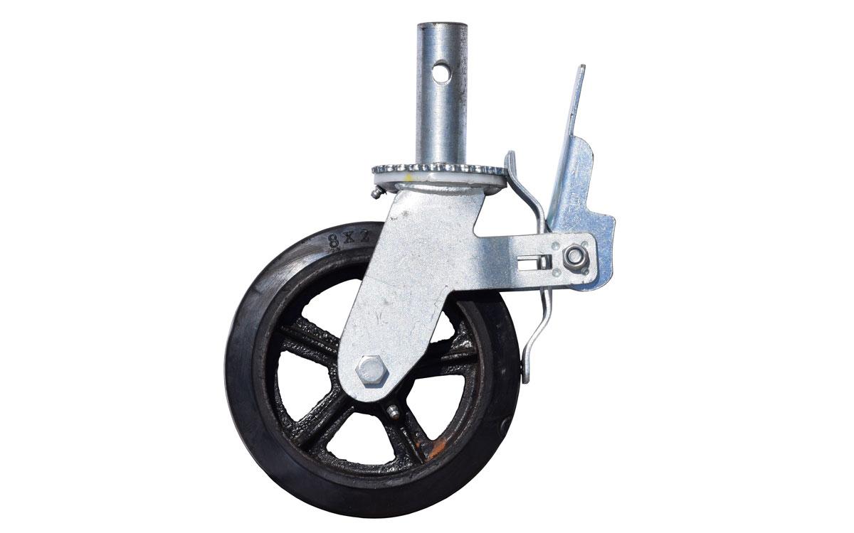8″ Scaffolding Castor Wheels