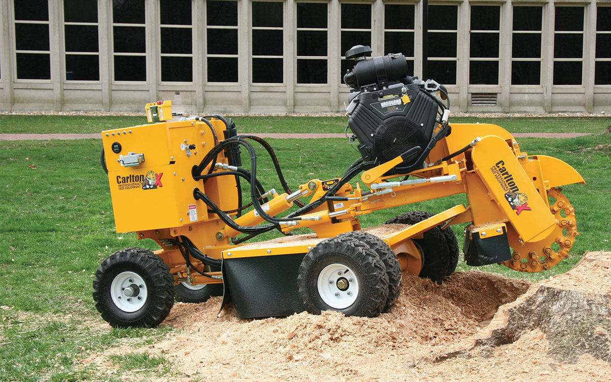 Carlton 35hp Stump Grinder