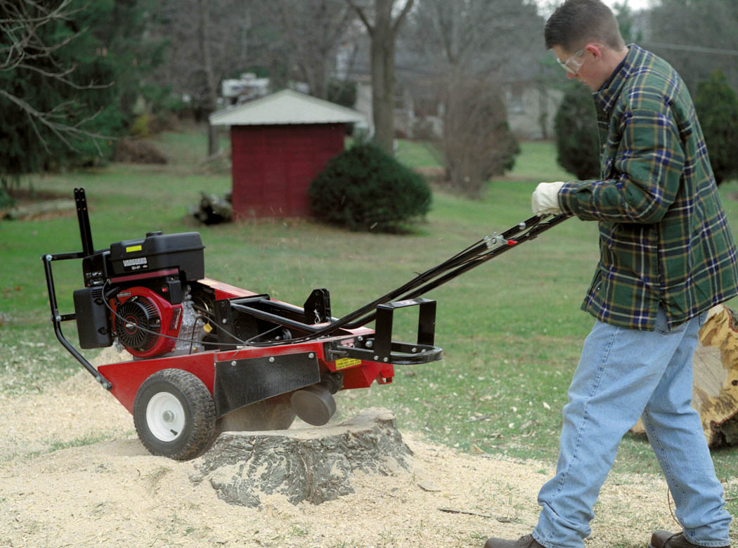 9hp Mackissic Stump Grinder