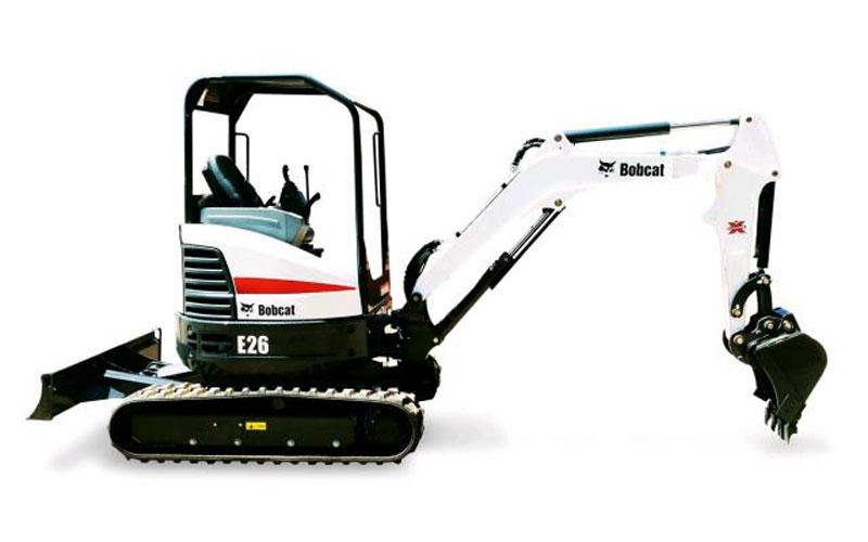 Bobcat E-26 Excavator
