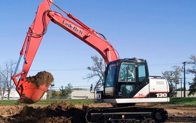 Link-Belt 130 Excavator
