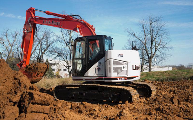 Link-Belt 145 X3 Excavator