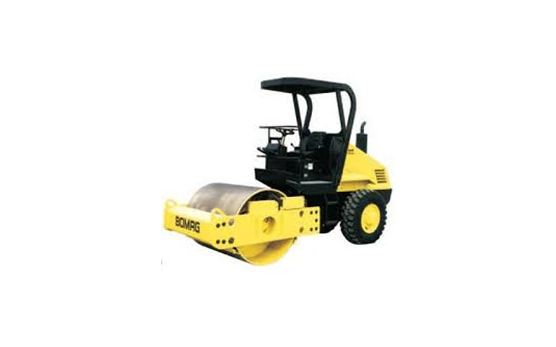 BOMAG 10-ton Single Drum Vibratory Roller