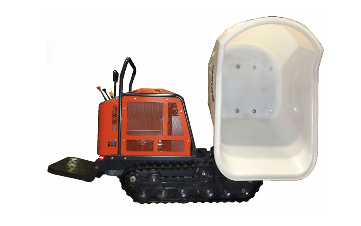 Canycom Track Concrete Power Buggy