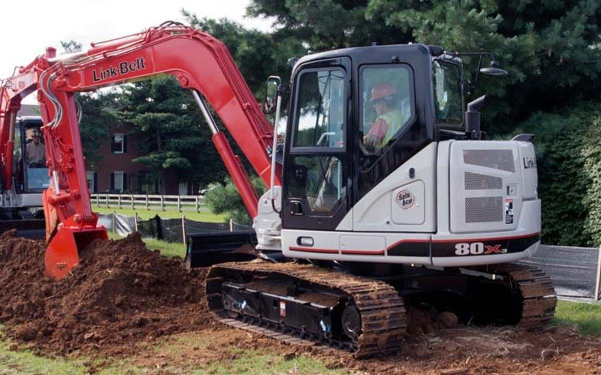Link-Belt 80 X3 Excavator