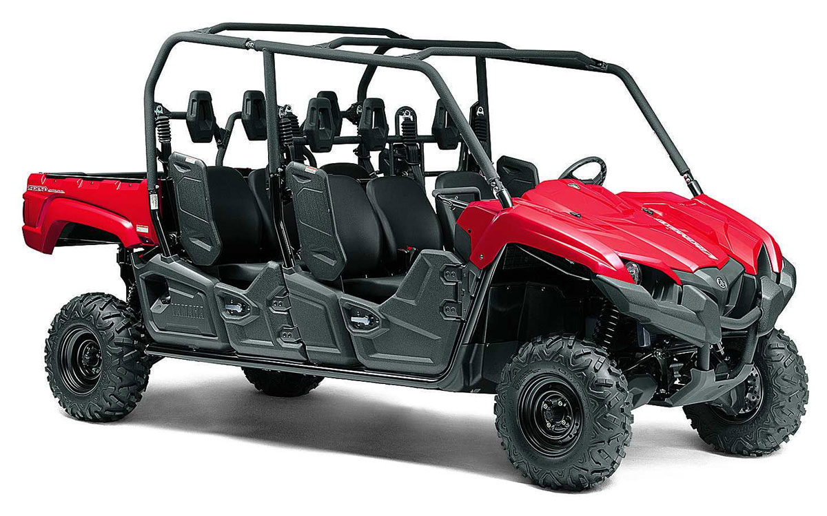 Utility Vehicle, 4×4 Yamaha 6 Seater
