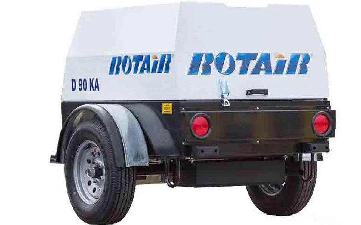 Rotair 90 CFM Air Compressor