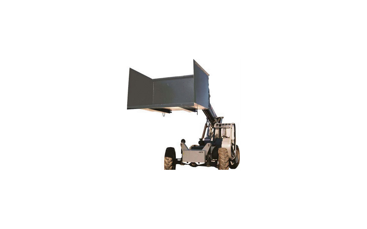 7′ Heavy Duty Trash Hopper