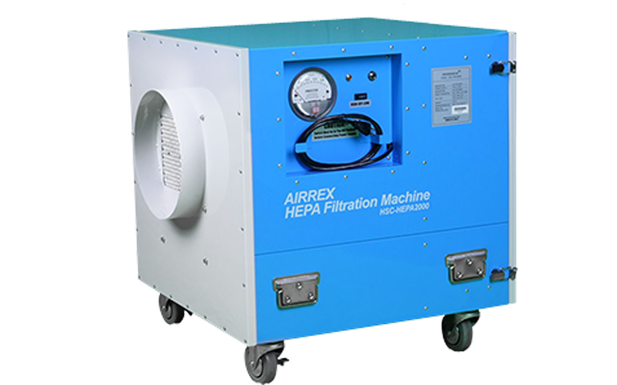 Airrex HEPA 2000 Negative Air Mover