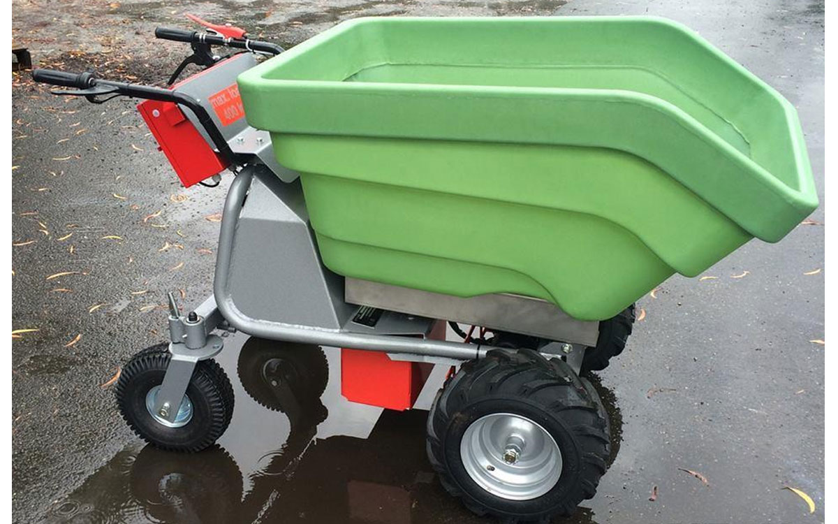 Electric Walk-Behind Concrete Buggy