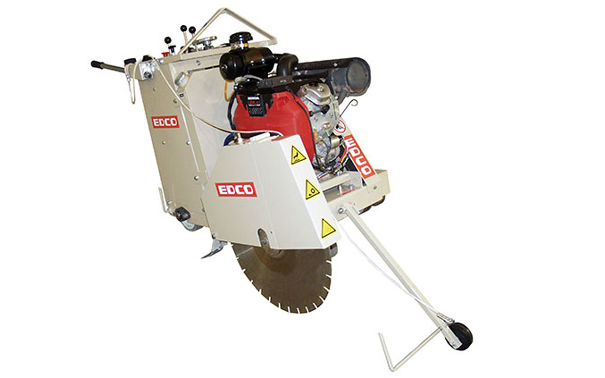 EDCO 24″ Self-Propelled Walk Behind Saw