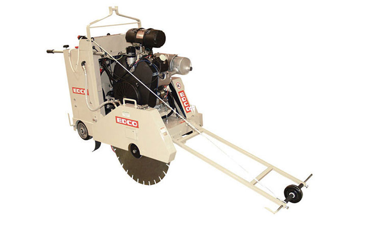 EDCO 30″ Self-Propelled Road Saw