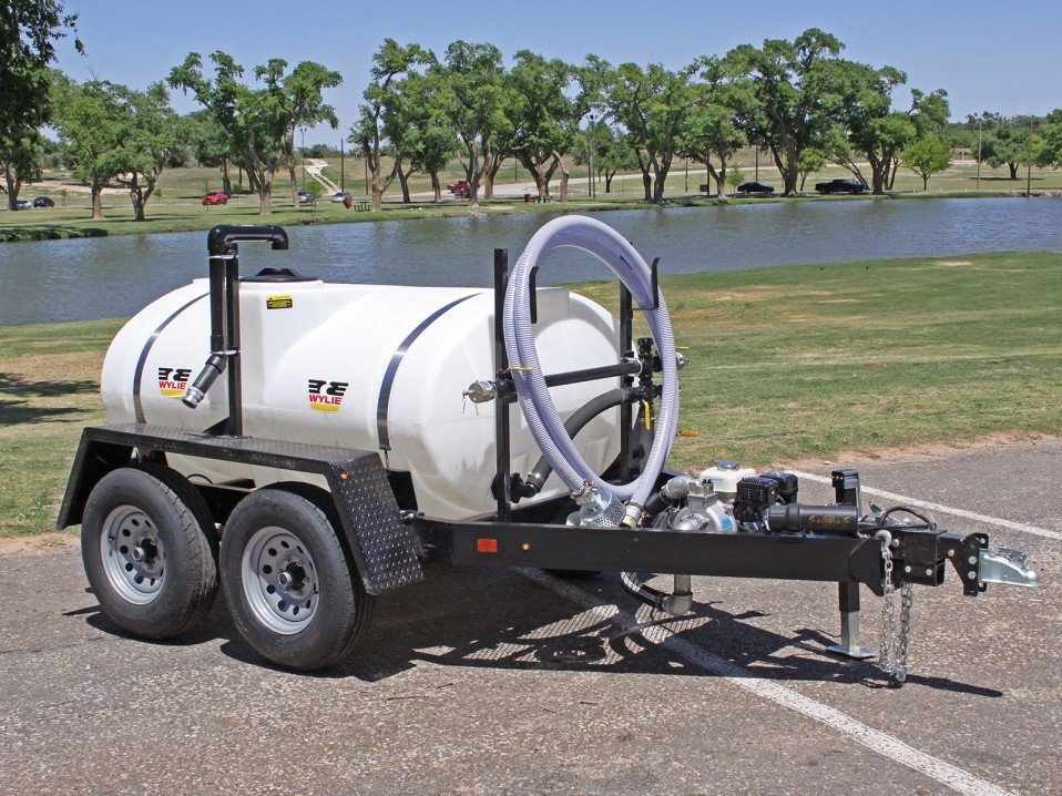 Water Trailer, Wylie 500 Gal.